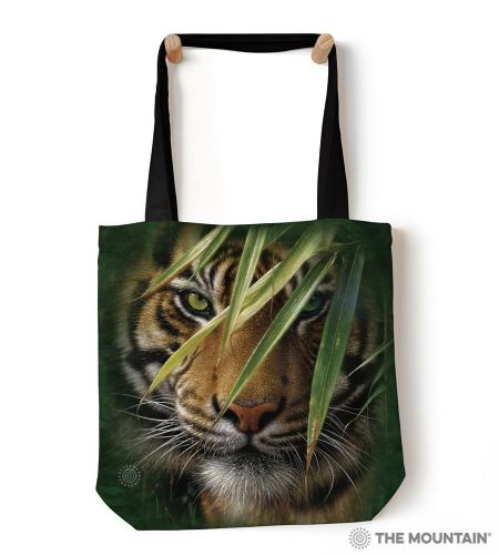 The Mountain® Emerald Forest Tiger Tote Bag
